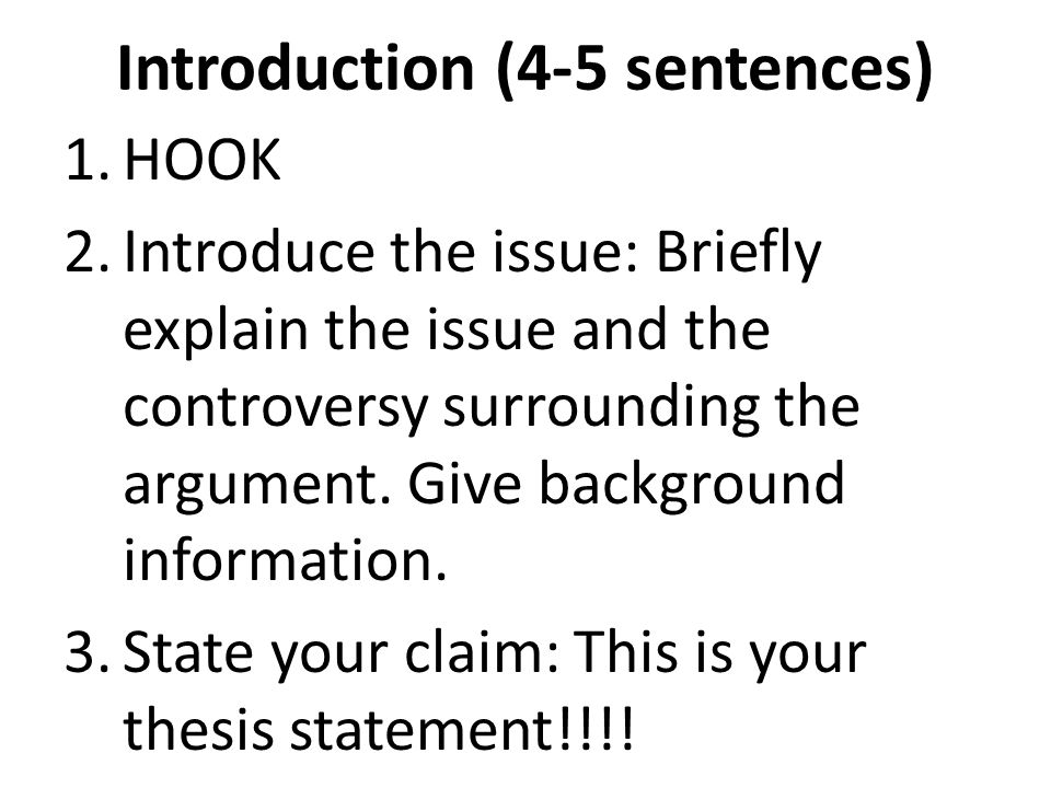 good thesis statements for argumentative essays In this lesson you will draft a thesis statement for your argumentative essay by combining your claim and supporting reasons.