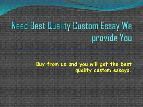 Custom essays: canadian websites