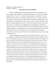 Childhood essay examples