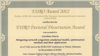 Distinguished dissertation competition