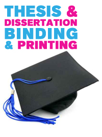 cheap thesis printing and binding Professional quality binding, photocopying or printing services you can find us on the ground floor of the student central building.