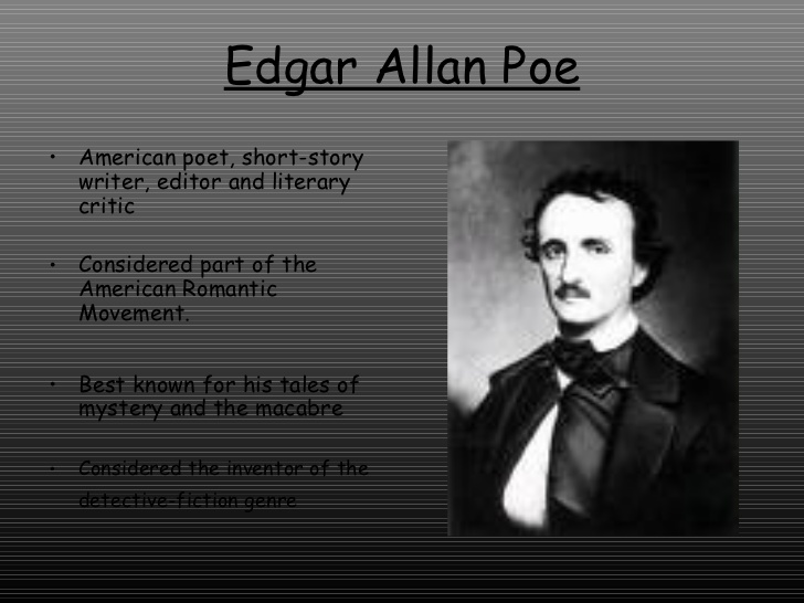 edgar allan poe writing style Free coursework on edgar allen poe writing style from essayukcom, the uk essays company for essay, dissertation and coursework writing.
