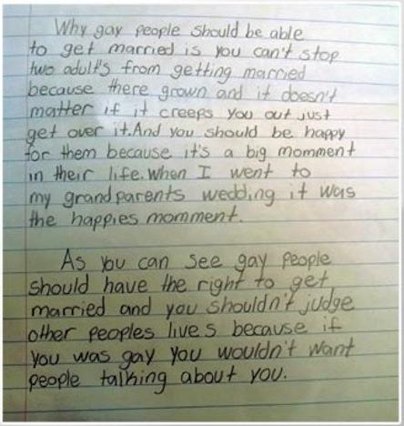 gay marriage essay papers on trust