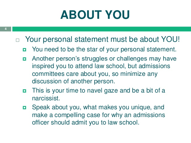 tips on writing a personal statement for law school How to apply to law school: writing a winning personal in this video i am sharing some tips for writing personal law school personal statement.