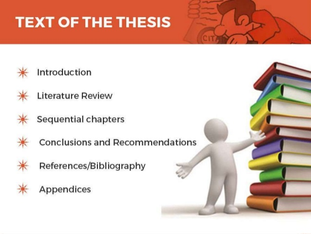 Writing a master thesis
