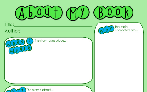how to write book reports for kids