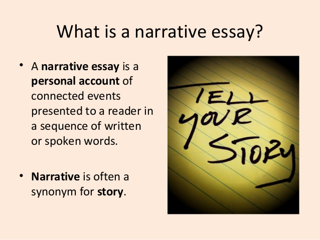 Semi narrative essay assignment