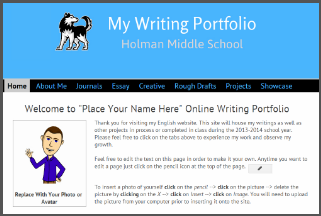 Writing sites online