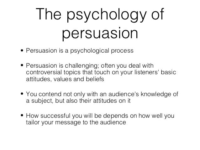 Already written persuasive speeches