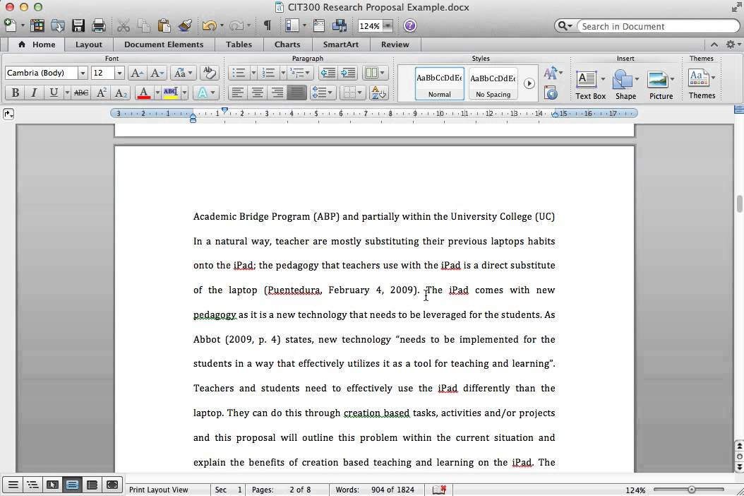 how to write a thesis proposal for a research paper