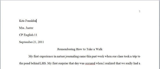 Best research paper for english