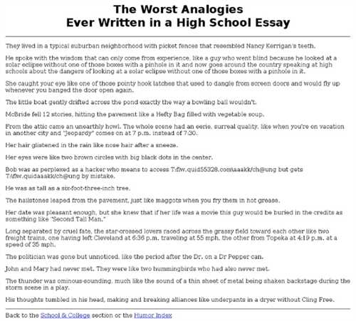 Best college essay ever