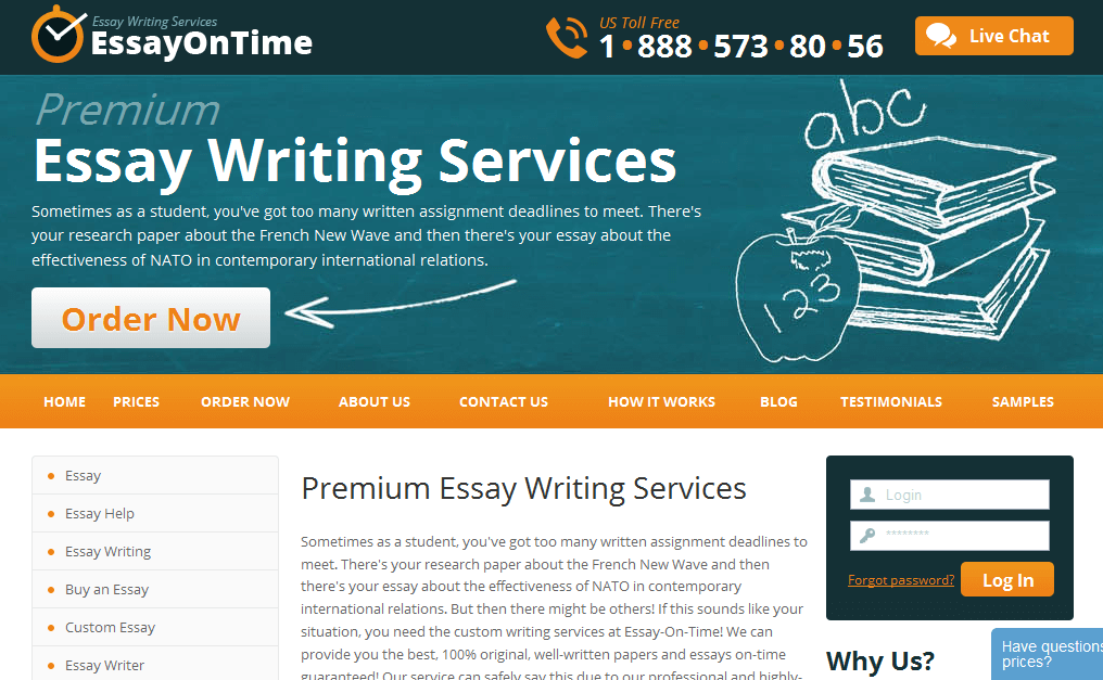 Top essay writing companies