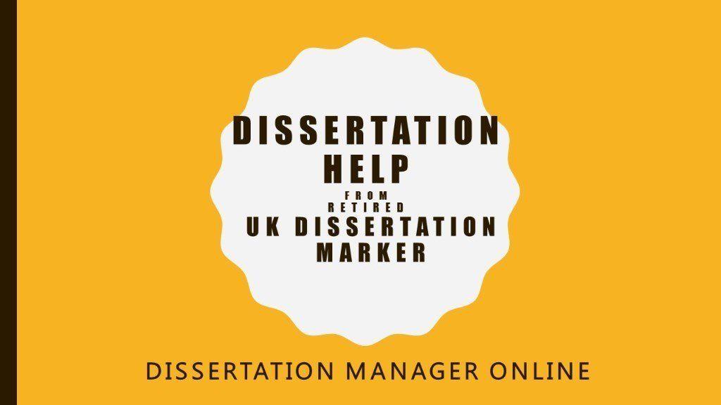Uk dissertation writing help desk