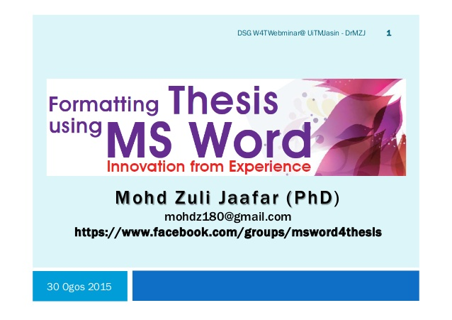 writing thesis in word How to write your thesis compiled by kim kastens, stephanie pfirman, martin stute, bill hahn, dallas abbott  do not repeat word for word the abstract.